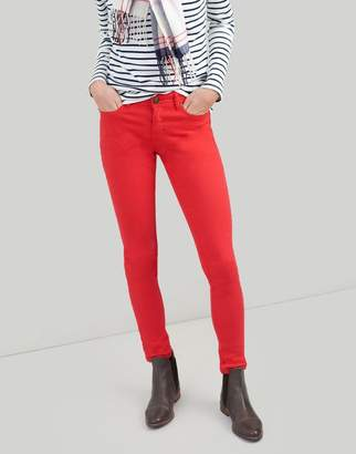 Joules Red Monroe Skinny Stretch Jeans Size 16