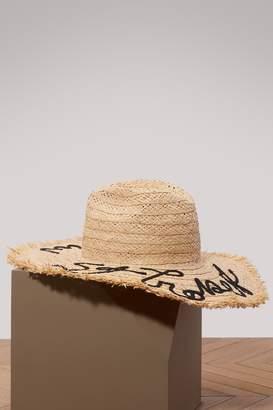 Miu Miu St Tropez straw hat
