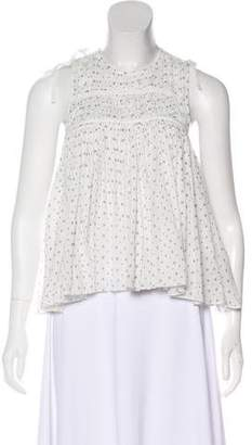 Ulla Johnson Sleeveless Printed Blouse