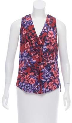Rebecca Taylor Silk Floral Top w/ Tags