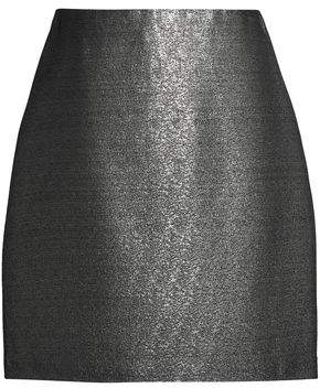MSGM Lamé Mini Skirt