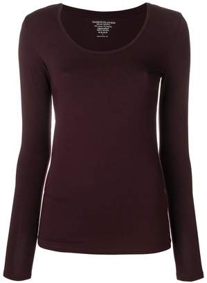 Majestic Filatures scoop neck top