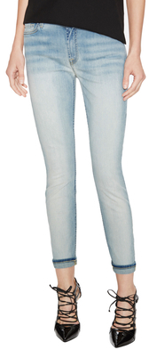 7 For All MankindMid-Rise Ankle Skinny Jean