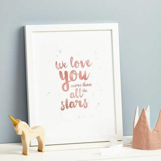 Thispaperbook 'All The Stars' Print