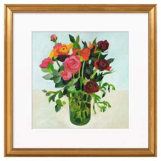 Artfully Walls Flowers in a Vase by Tali Yalonetzki