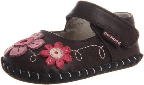 pediped Originals Sadie Mary Jane Crib Shoe (Infant)