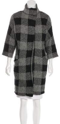 Rag & Bone Knit Zip-Up Coat