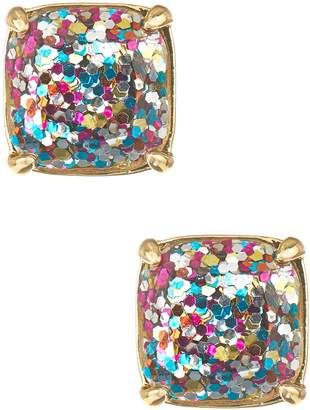 Kate Spade Square Glitter Stud Earrings