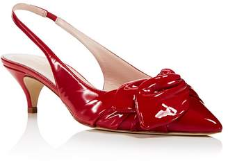 Kate Spade Women's Ophelia Patent Leather Slingback Pumps - 100% Exclusive