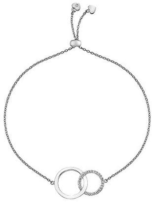 Hot Diamonds Bliss Circle Pendant on a Chain of Length 45cm MI921oHibl