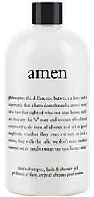 philosophy 3-In-1 Amen Men's Shampoo, Bath & Shower Gel, 16 Oz
