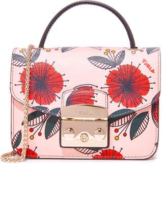 Furla Metropolis Top Handle Mini Cross Body Bag $398 thestylecure.com