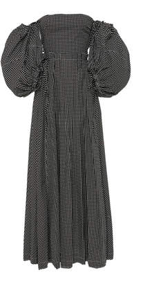 Loewe Off-The-Shoulder Puff Sleeve Ball Gown
