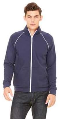 Bella + Canvas Men's Piped Fleece Jacket 3710
