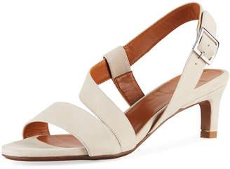 Aquatalia Tana Strappy Suede Sandals