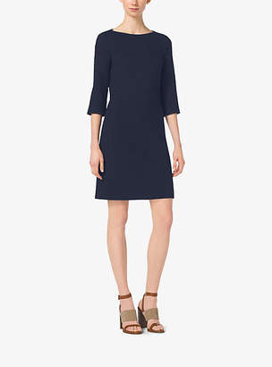 Michael Kors Stretch Boucle-Crepe Shift Dress