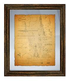 Vintage Planogram Wall Art