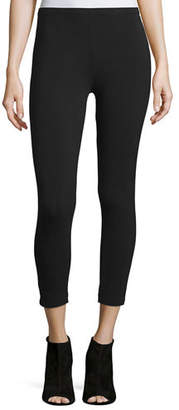 Joan Vass Plus Size Stretch-Jersey Leggings