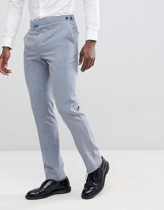 Reiss Slim Wedding Suit Pants In Wool Mix