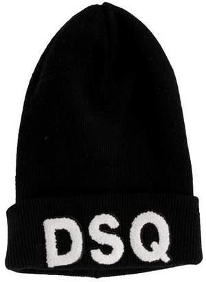 DSQUARED2 Wool Logo Beanie