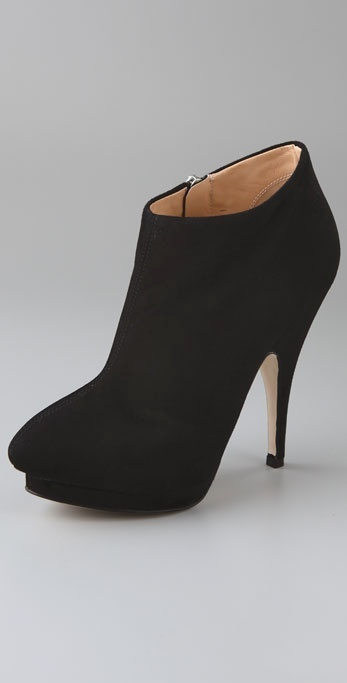 Giuseppe Zanotti Shoes New Platform Suede Booties