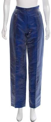 Paul Smith Textured High-Rise Pants