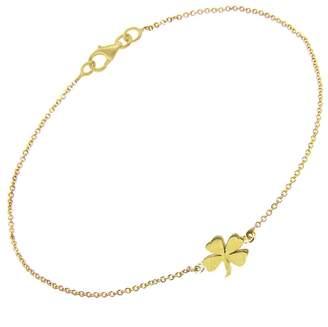 Jennifer Meyer Mini Clover Bracelet - Yellow Gold