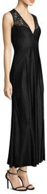 Donna Karan Lace Paneled Cocktail Dress