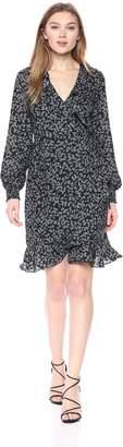 Vero Moda Women's Henna Smock Short Wrap Dress