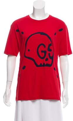 Gucci 2017 Ghost Graphic T-Shirt w/ Tags