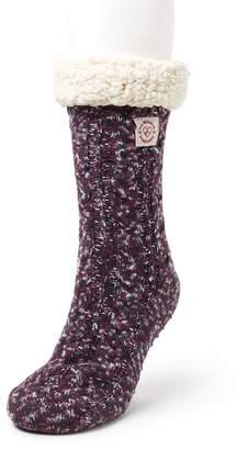 Dearfoams Women's Blizzard Slipper Socks