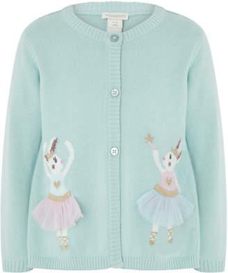 Monsoon Baby Ballerina Bunny Cardigan