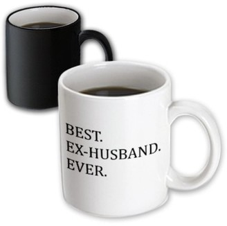 3dRose Best Ex-Husband Ever - Funny gifts for your ex - Good Term Exes - humorous humor fun - Magic Transforming Mug, 11-ounce
