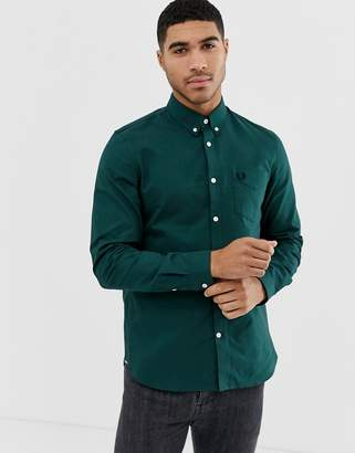 Fred Perry oxford shirt in green