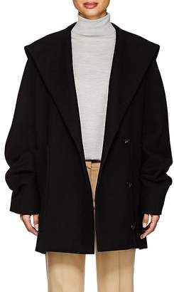 The Row Women's Ernstly Cotton-Wool Hooded Coat
