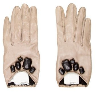 3.1 Phillip Lim 3.1 Phillip Lim Leather Embellished Gloves