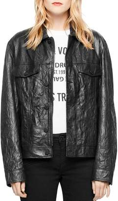 Zadig & Voltaire Kase Leather Jacket