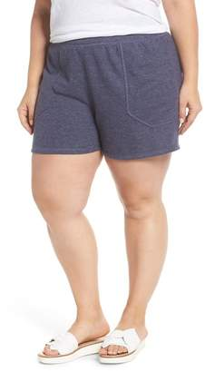 Caslon French Terry Shorts (Plus Size)