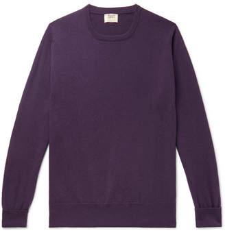 William Lockie - Slim-fit Cashmere Sweater - Purple