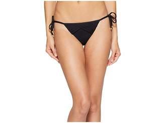Nanette Lepore Origami Pleats Vamp Bottom Women's Swimwear