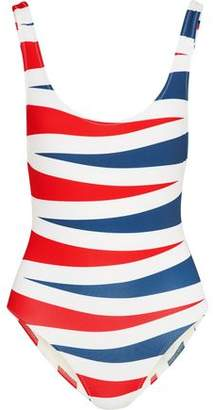 Solid & Striped The Anne Marie Color-Block Swimsuit