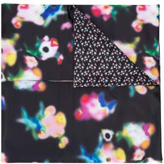 Paskal flower print cape