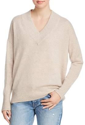 Minnie Rose Drop-Shoulder Cashmere Sweater