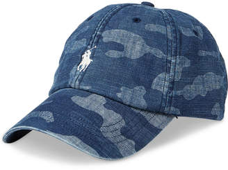Polo Ralph Lauren Men's Denim Baseball Cap