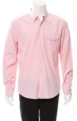 Save Khaki Woven Button-Up Shirt