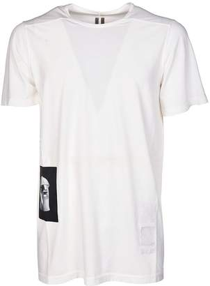 Drkshdw Rick Owens Patch T-shirt
