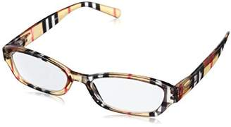 Peepers Chesterfeld Stripe Square Reading Glasses