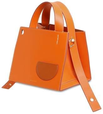 Margot Leather Top Handle Bag