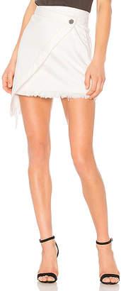 One Teaspoon Wild Thing Denim Skirt.