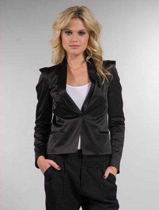 Filippa K Debbie Satin Jacket